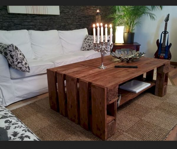 LivingRoomWoodTableIdeas Medium