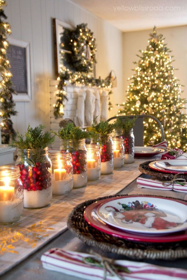christmas table centerpieces 0