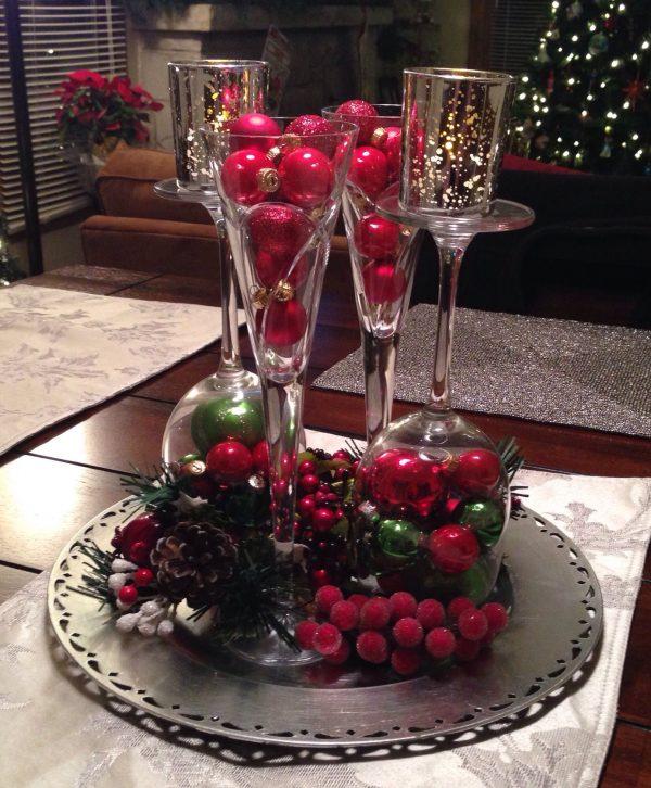Christmas Table Centerpieces 25cr Medium