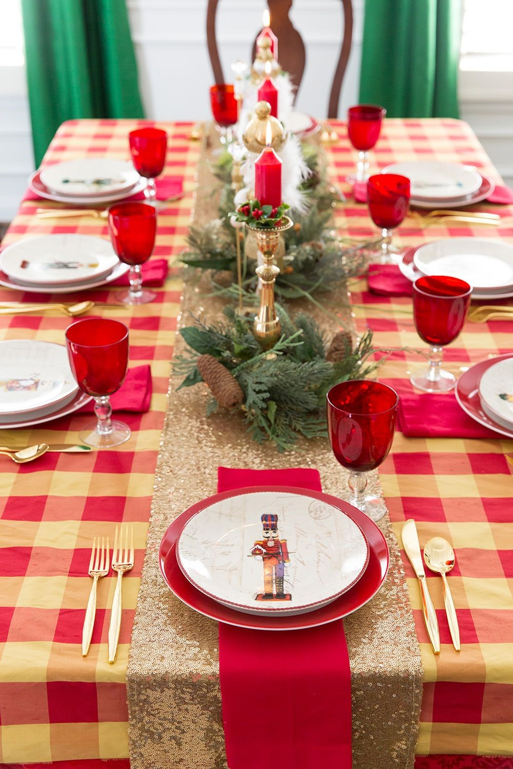 christmas table centerpieces 42