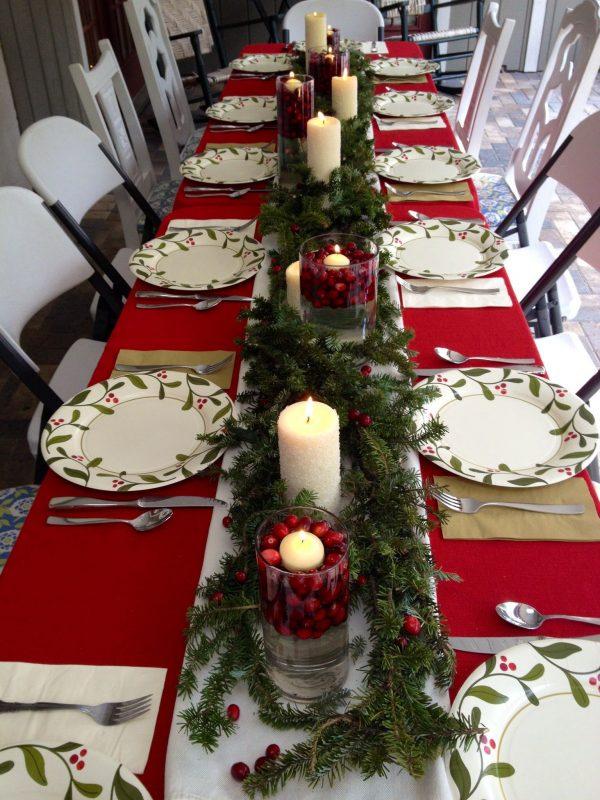 Christmas Table Centerpieces 8 Medium