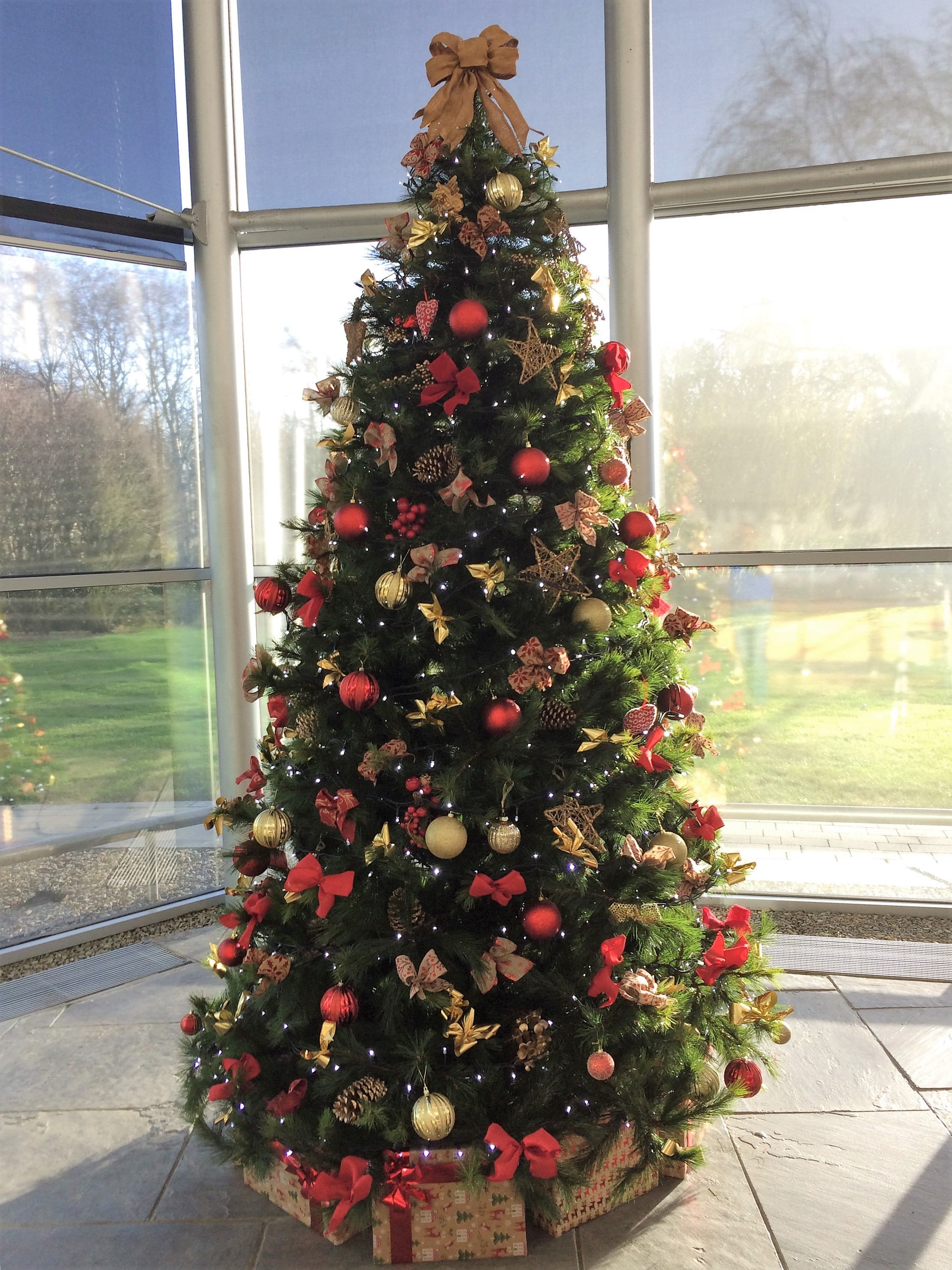 decorated christmas trees 95