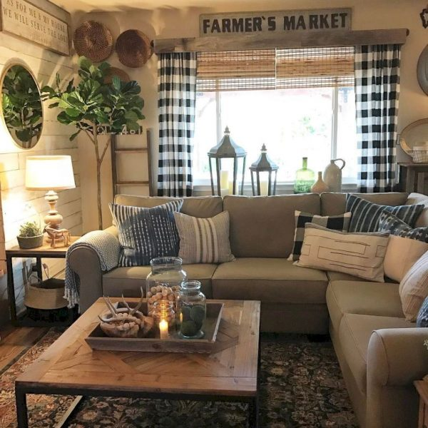FarmhouseStyleLivingRoomDecorIdeas10 Medium