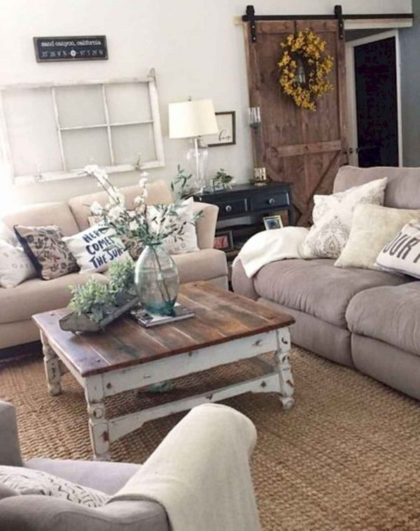 FarmhouseStyleLivingRoomDecorIdeas17 Medium