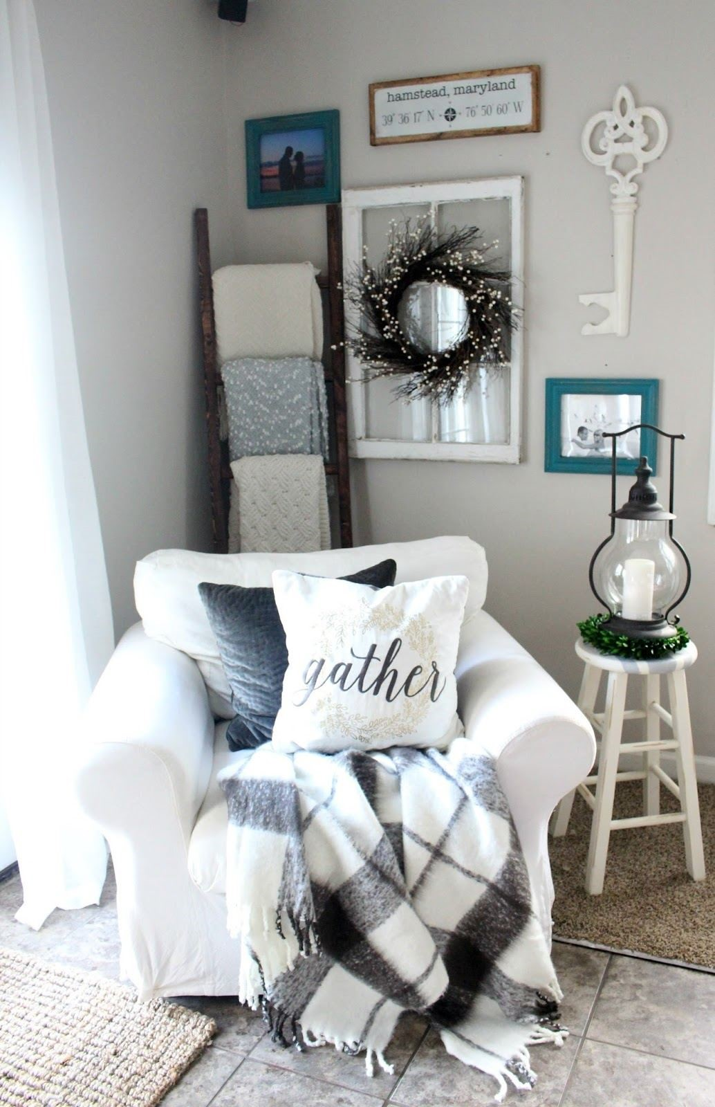 farmhouse style living room decor ideas 3