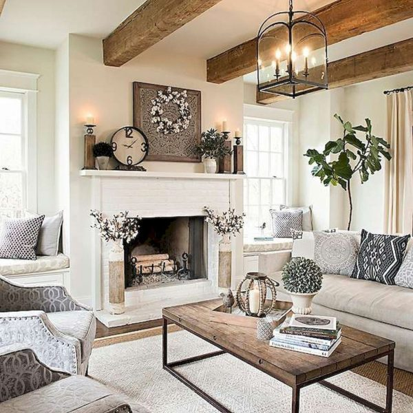FarmhouseStyleLivingRoomDecorIdeas33 Medium