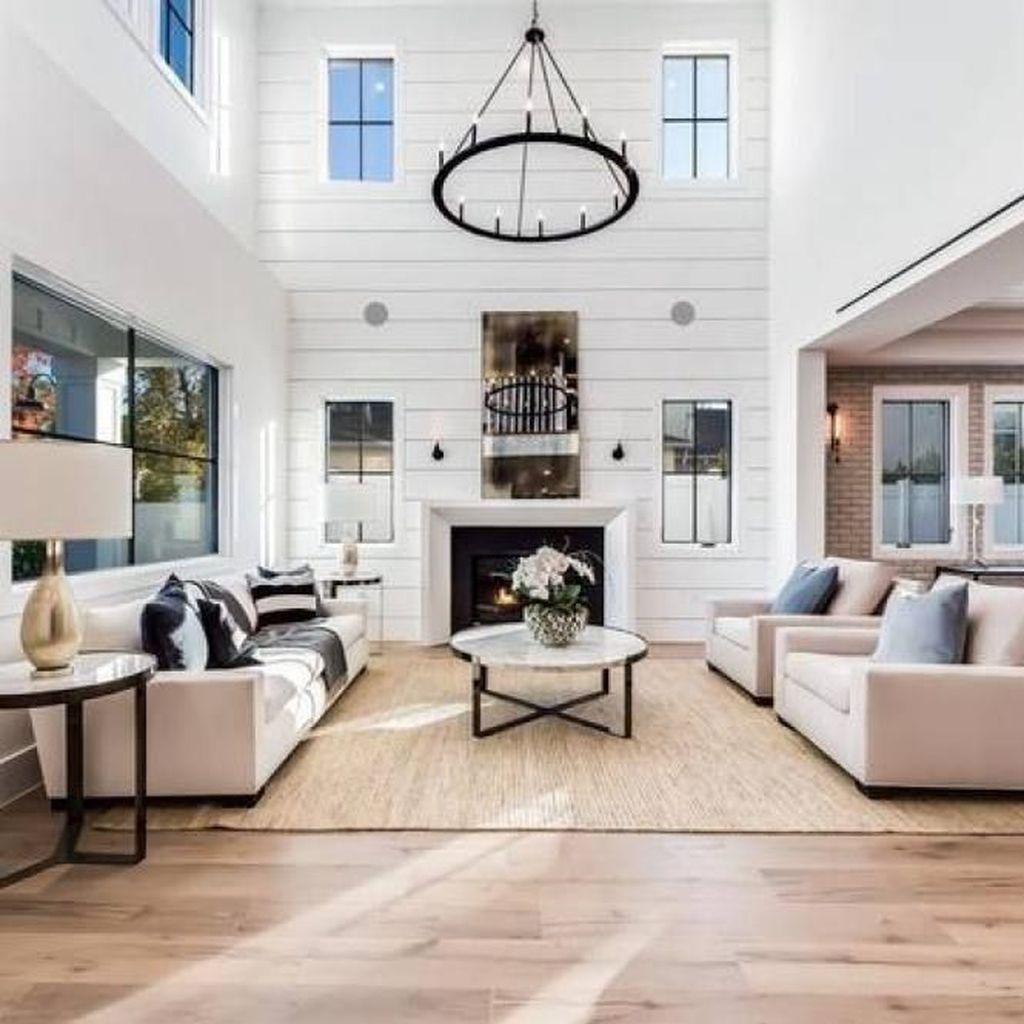 farmhouse style living room decor ideas 55