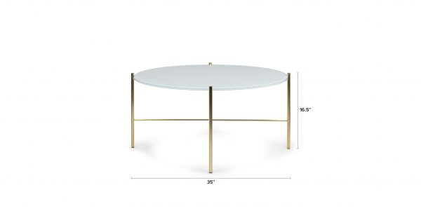 Round Coffee Table 25 Medium