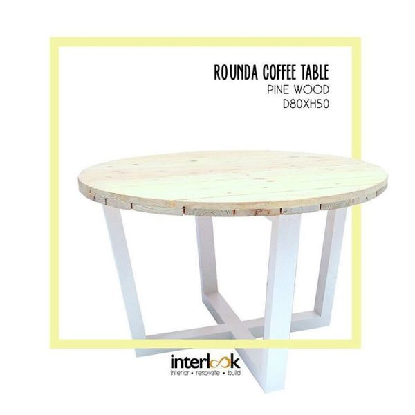 Round Coffee Table 61 Medium