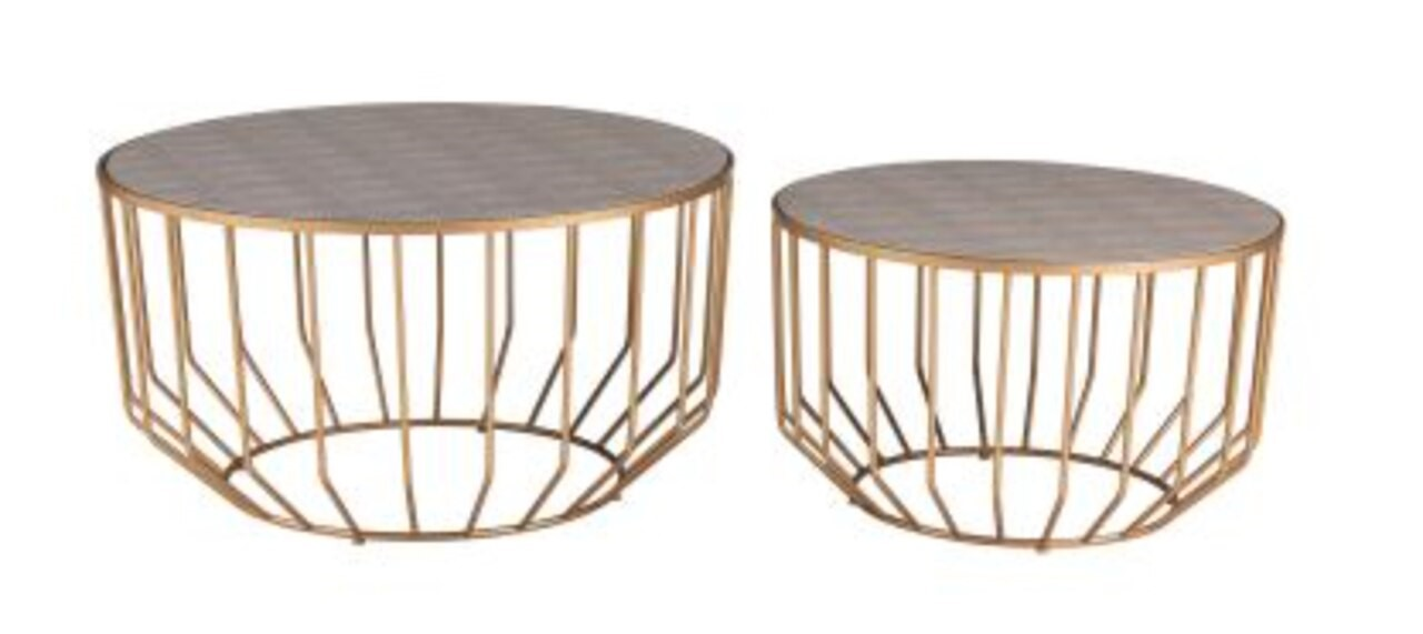 round coffee table 64