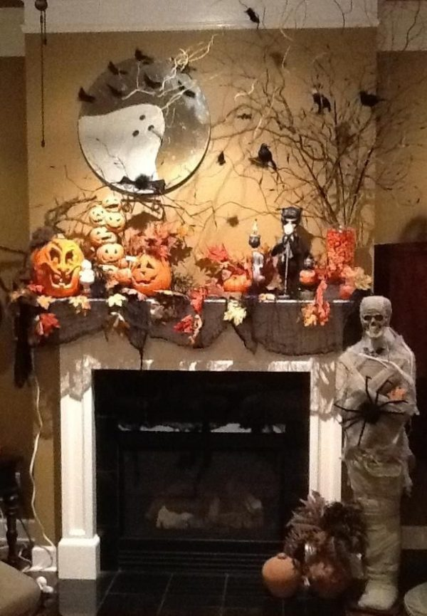 Browse 17 Best Images About Halloween Mantel On Medium