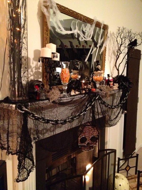 Our Favorite Best 25  Halloween Mantel Ideas On Medium