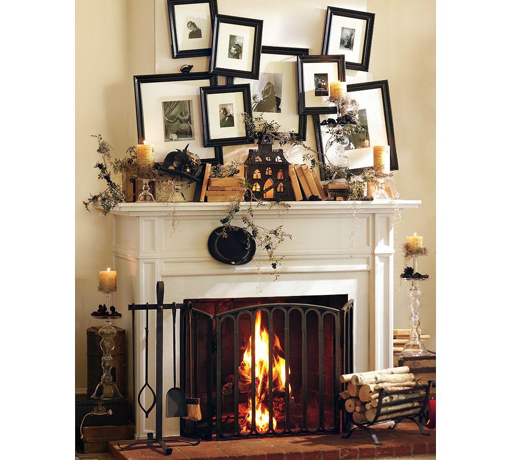 popular 50 great halloween mantel decorating ideasdigsdigs