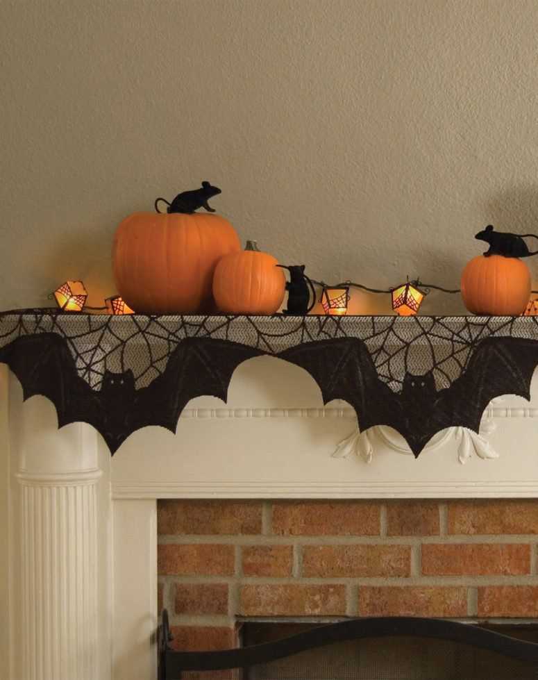 search 70 great halloween mantel decorating ideas digsdigs