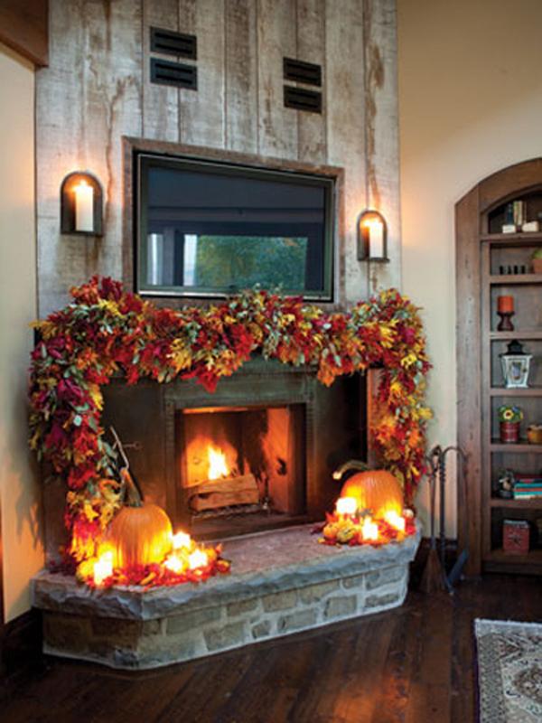 tips 20 beautiful halloween mantel ideashouse design and decor