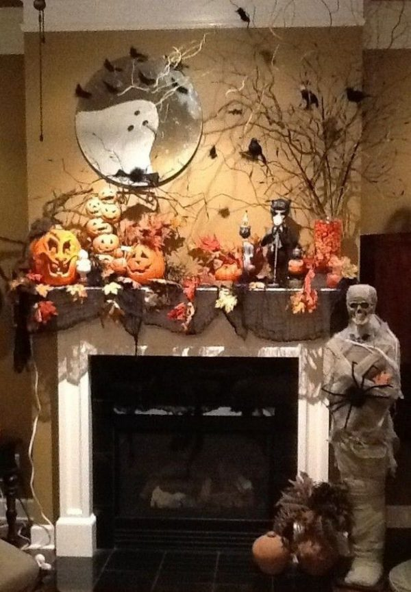 We Share 1000  Ideas About Halloween Mantel On Medium