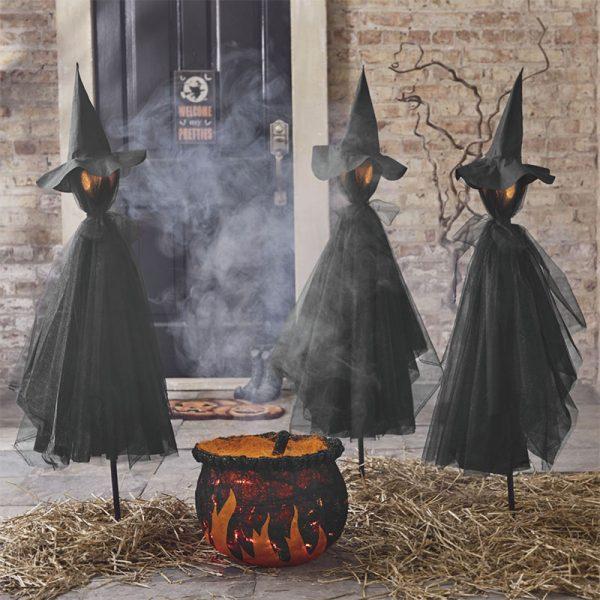 Bore Spooky And Creative Outdoor Halloween Decorating Ideas Medium