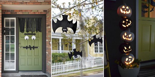 browse 20 easy and cheap  diy outdoor halloween decoration ideas