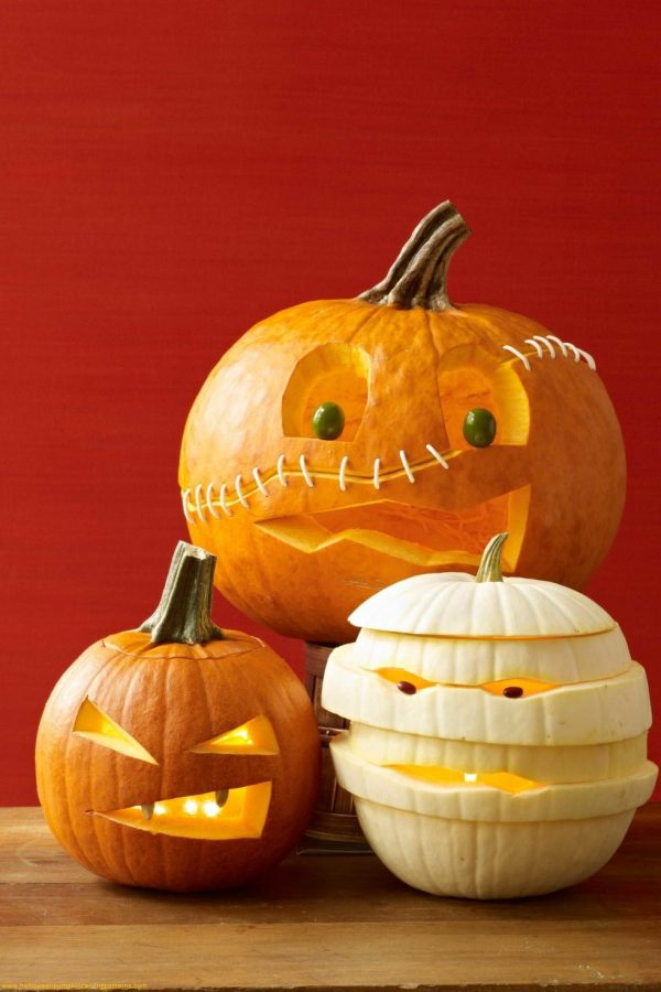 Creative   Top 100  Halloween Pumpkin Carving Ideas 2018 Faces Medium