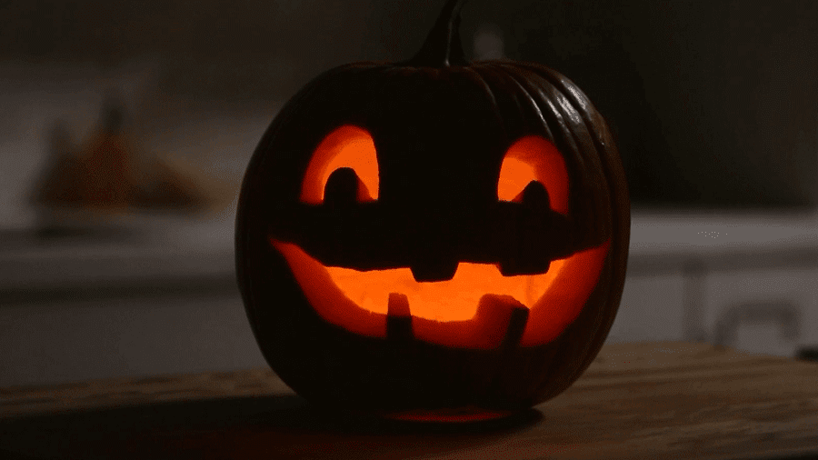 example of a happy halloween pumpkin carving ideas with pictures
