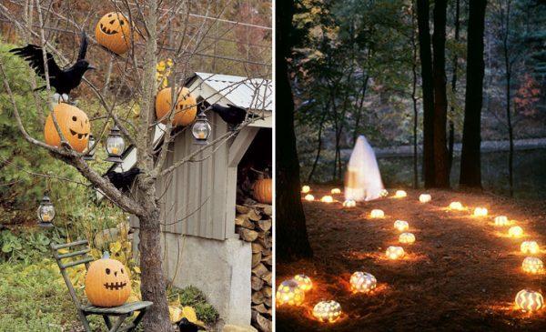 Explore 90 Cool Outdoor Halloween Decorating Ideasdigsdigs Medium