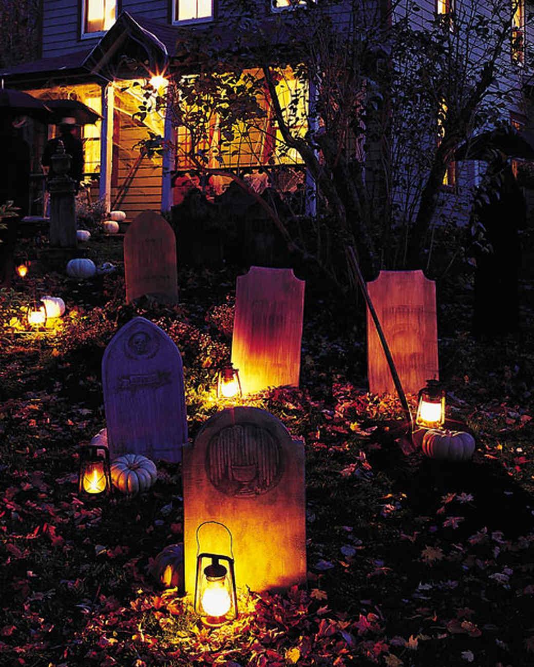 innovative outdoor halloween decorationsmartha stewart