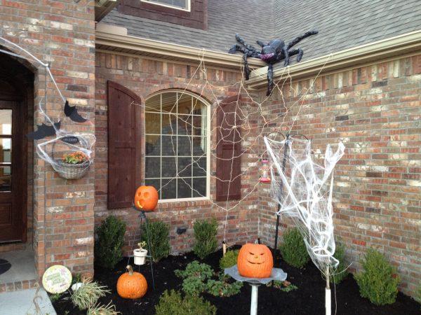Inspirational Outdoor Halloween Decorations  Weneedfun Medium