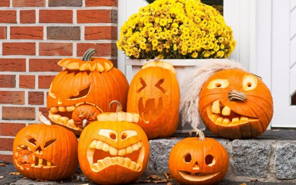Looking Pumpkin Carving Ideas For Halloween 2017 More Great Medium