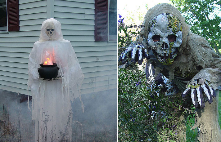 simply 90 cool outdoor halloween decorating ideasdigsdigs
