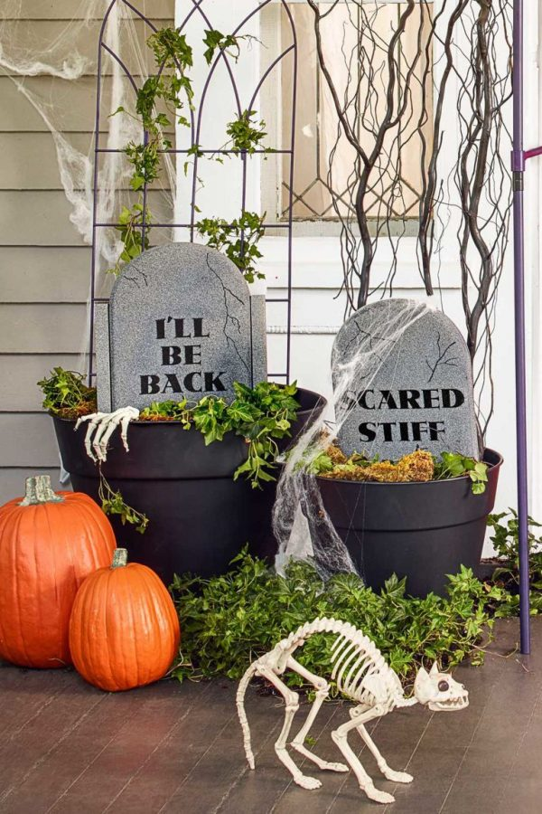 Simply Exquisite Outdoor Halloween Decoration Ideas Festival Medium