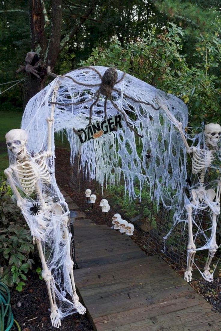 we share best 25  outdoor halloween decorations ideas on