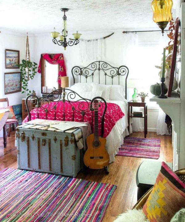 BohoBedroomDecoratingIdeas1 Medium