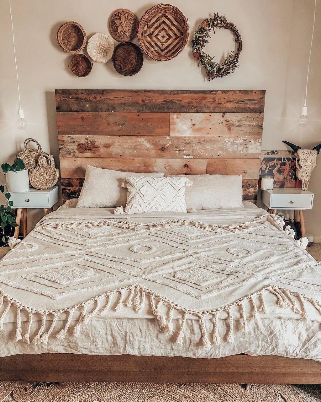 boho bedroom decorating ideas 14