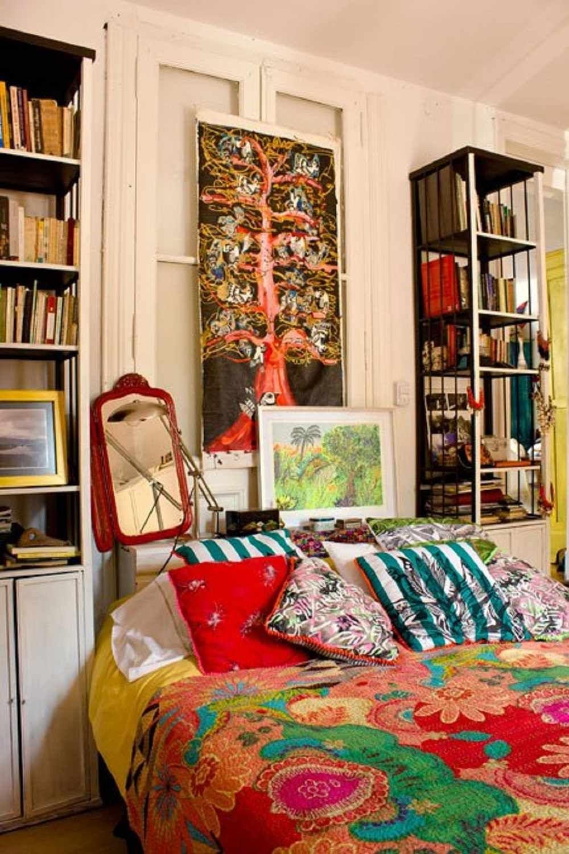 boho bedroom decorating ideas 17