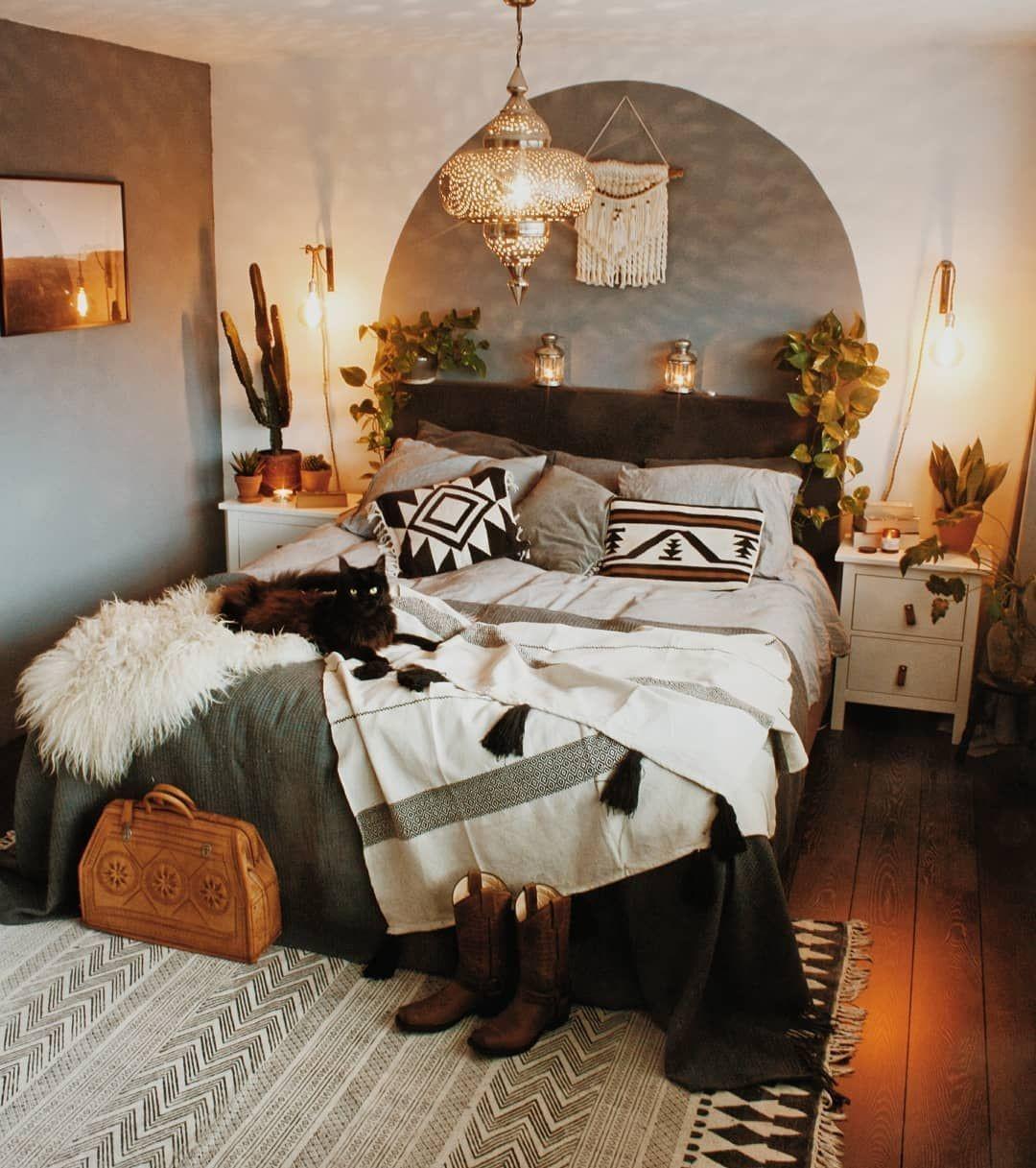 boho bedroom decorating ideas 2