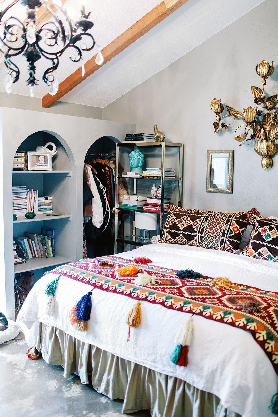boho bedroom decorating ideas 28