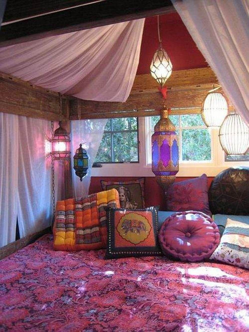 boho bedroom decorating ideas 33