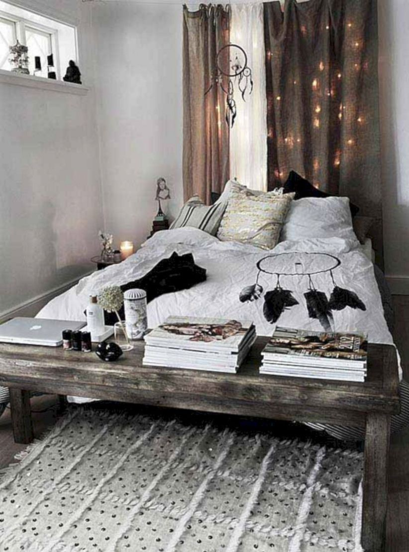 boho bedroom decorating ideas 45