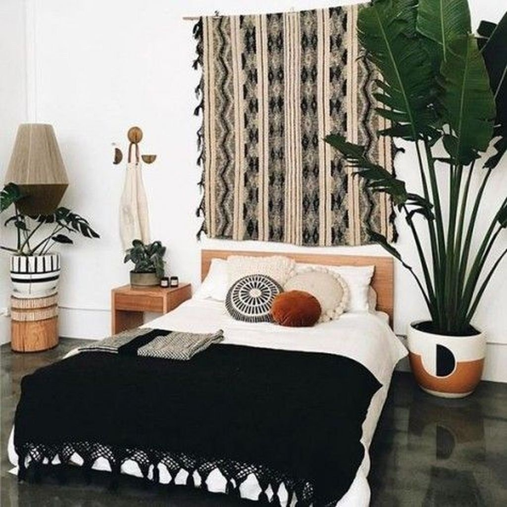 boho bedroom decorating ideas 47