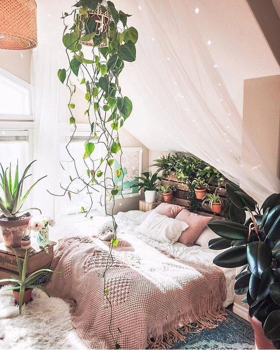 boho bedroom decorating ideas 9