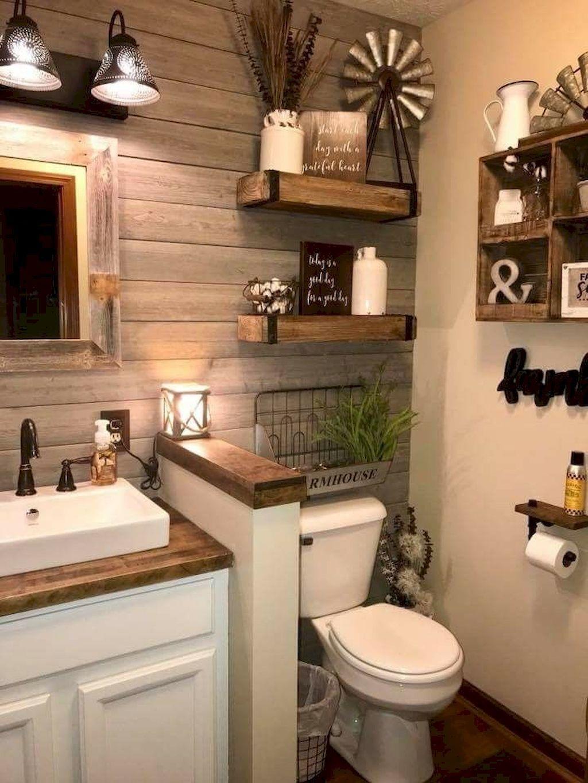 farmhouse bathroom design 0