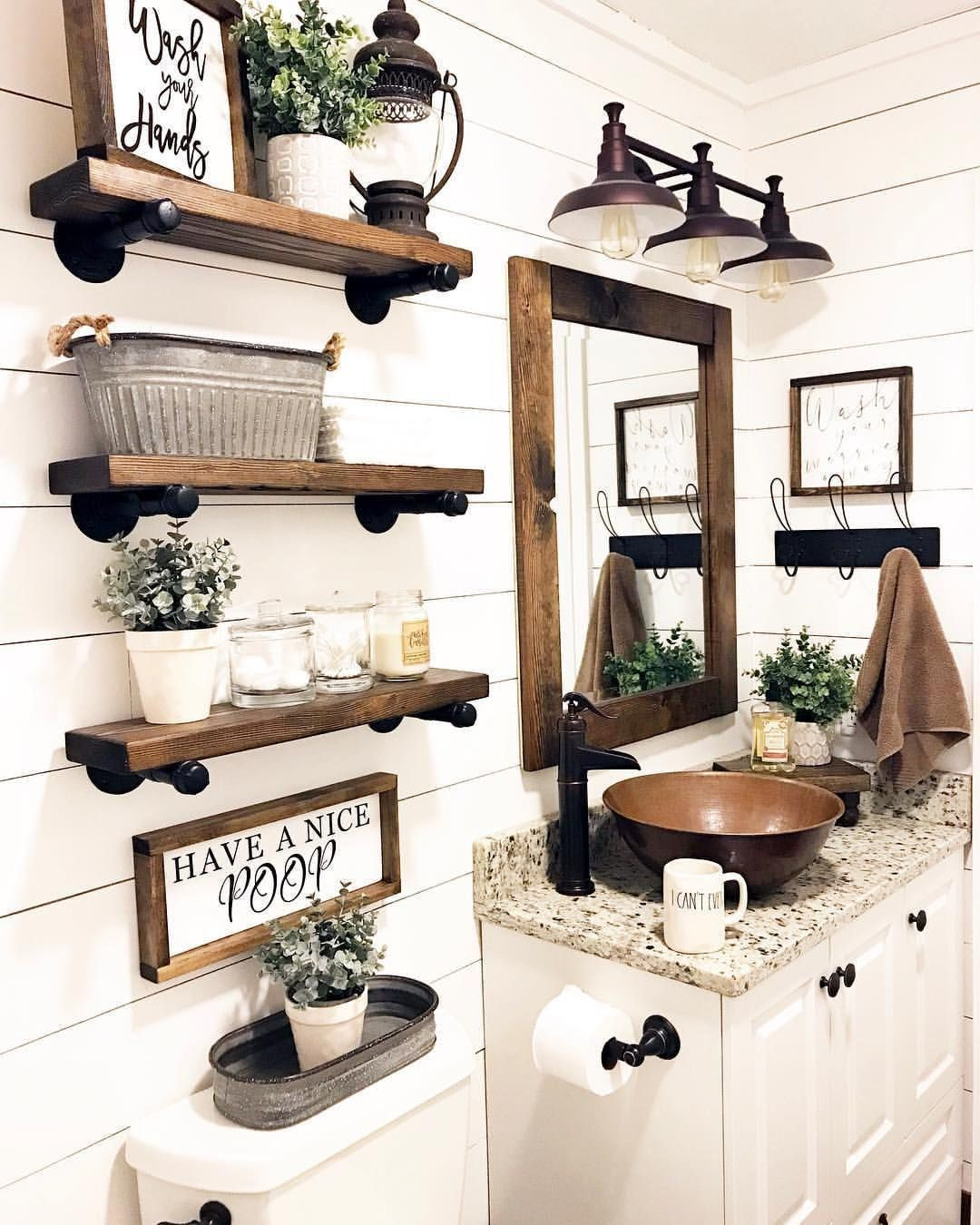 farmhouse bathroom design 3