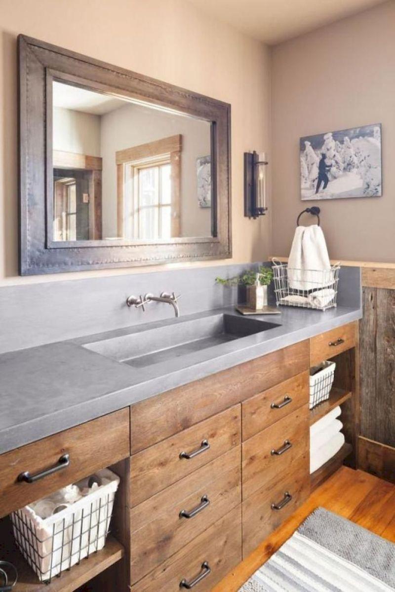 farmhouse bathroom design 31