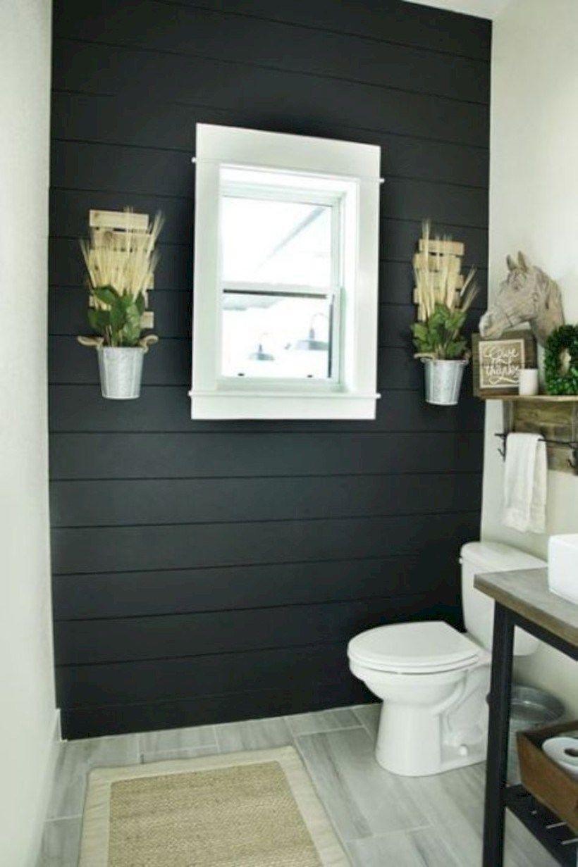 farmhouse bathroom design 33