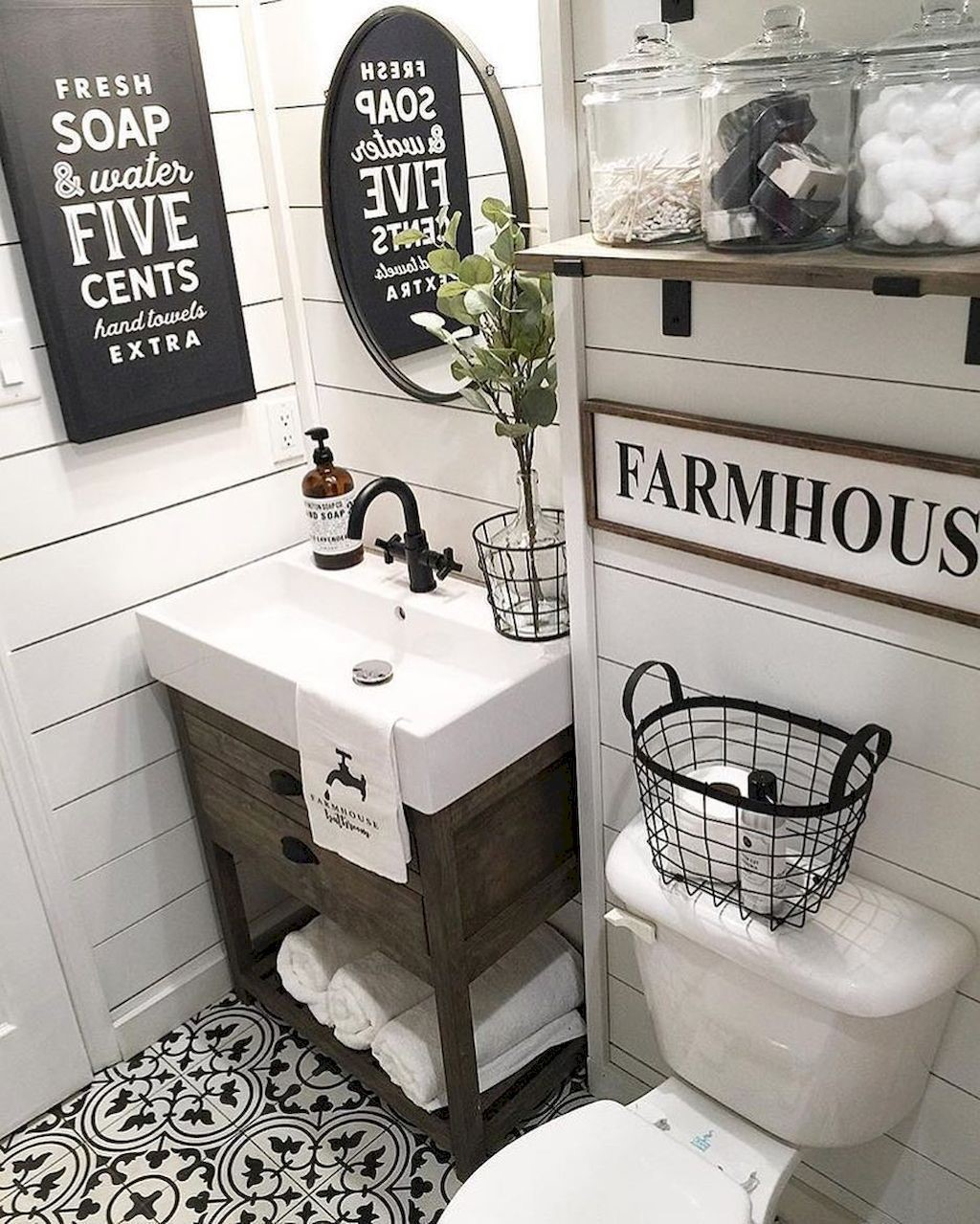 farmhouse bathroom design 4