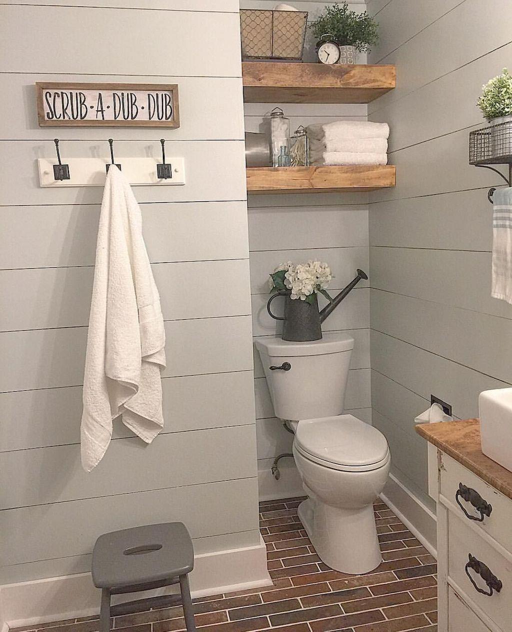 farmhouse bathroom design 6