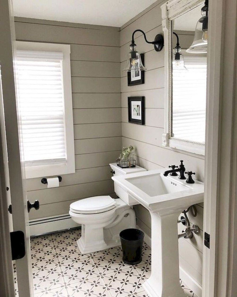 farmhouse bathroom design 7