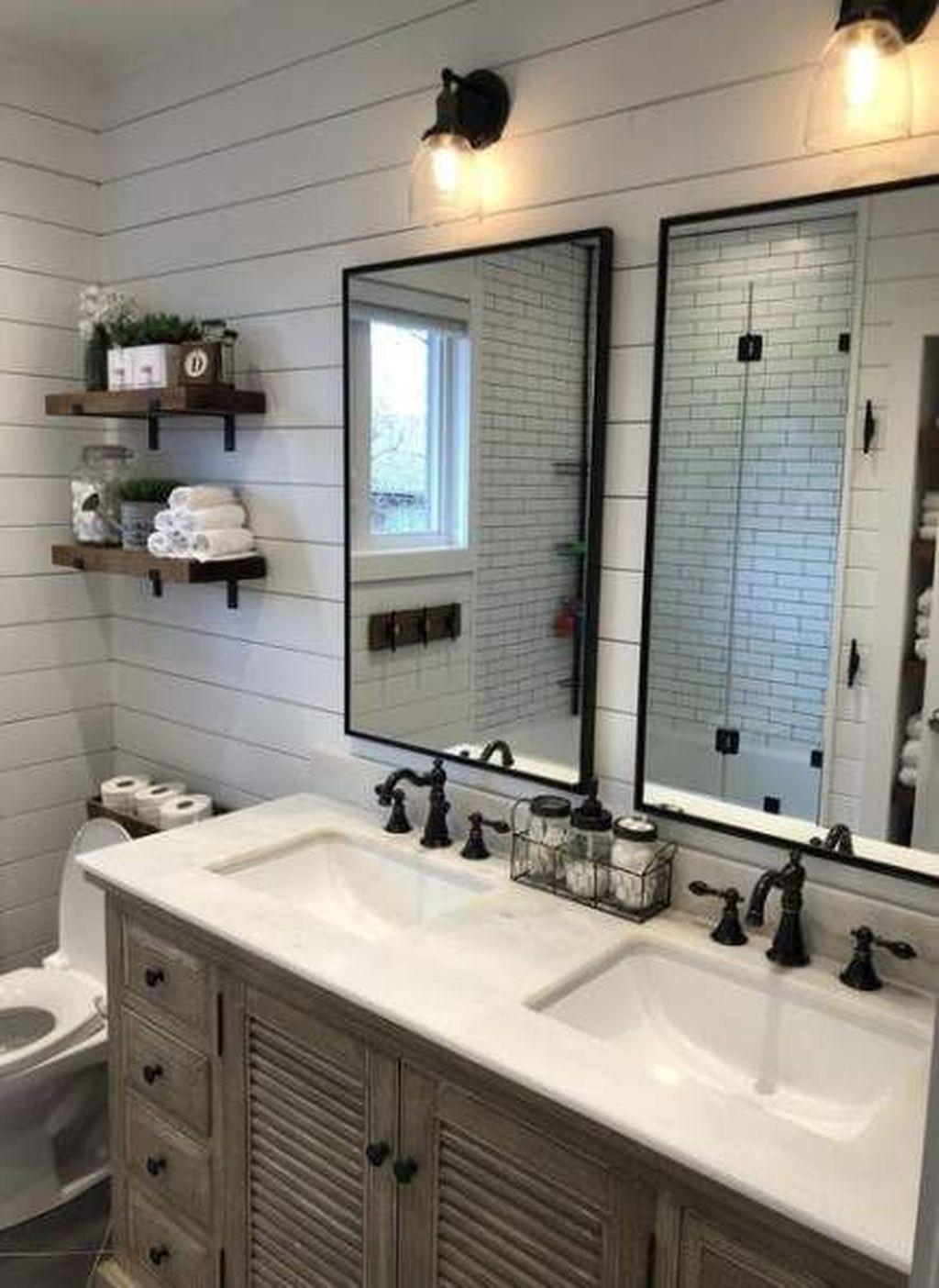 farmhouse bathroom design 8