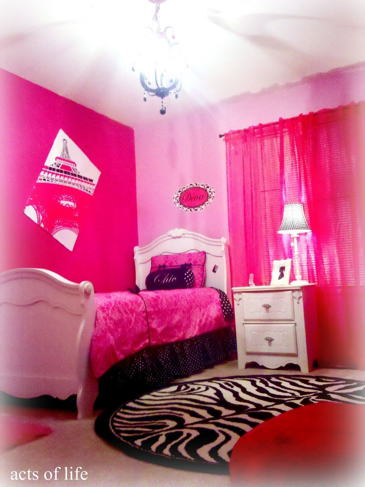 pink bedrooms with images 1