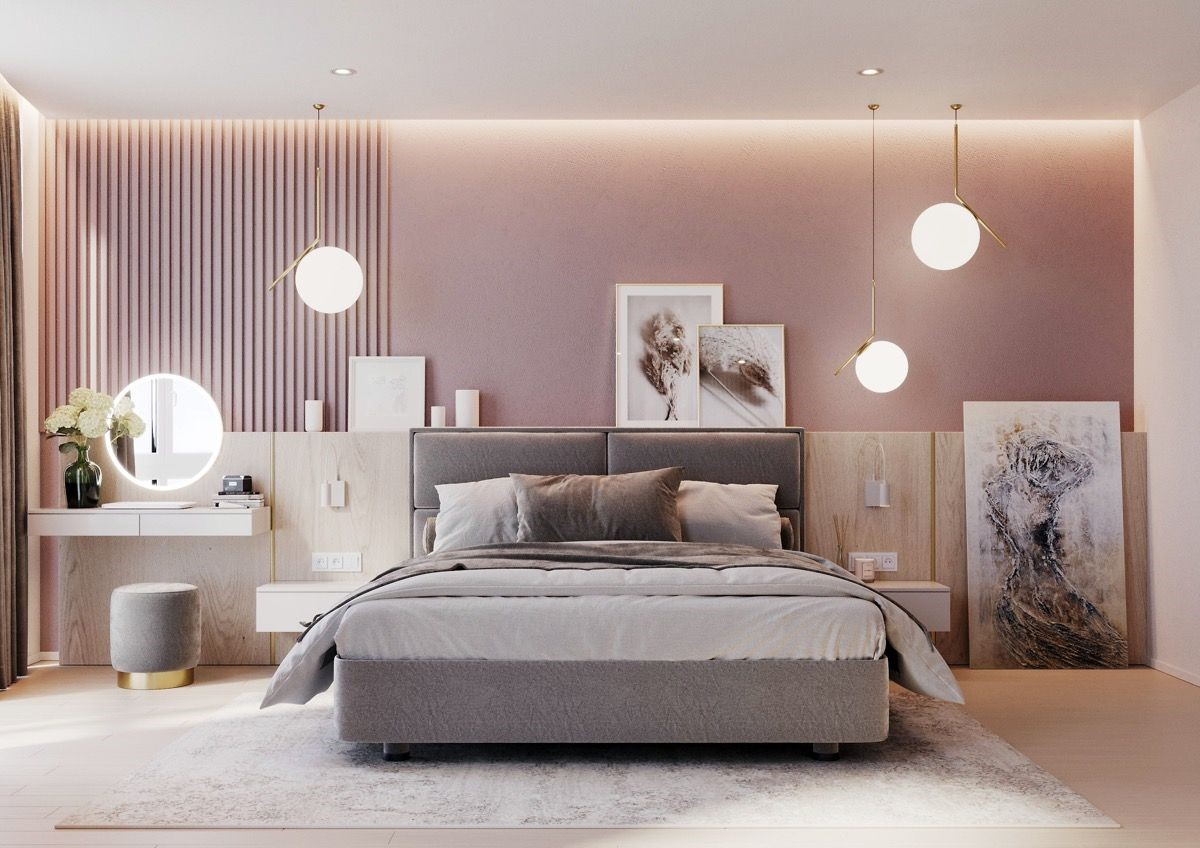 pink bedrooms with images 10